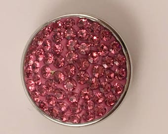 18mm Snap, Color: Pink