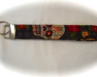 Fabric Key Chain, Key Fob Wristlet
