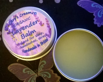 Wild Herb Balms: Lavender, Comfrey & Calendula