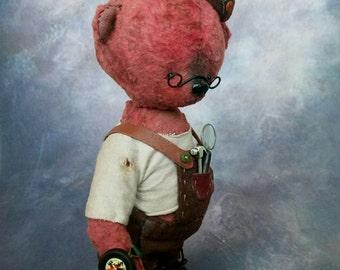 Teddy bear, OOAK, artist teddy bear, teddy bear old stile, collectible bear, gentle bear, beautiful gift, collectible toy, toys