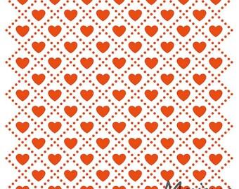Marianne Design Embossing Folder  - Sweet Hearts - Valentine's, weddings, anniversaries, engagements - MDDF3432