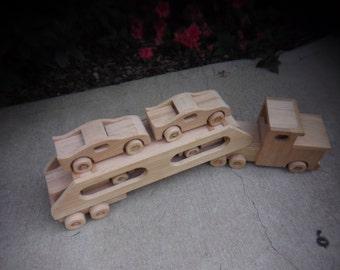 Car Hauler with Cars