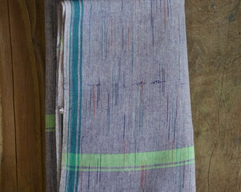Khadi dothi -hand-spun and hand woven Khadi lungi , khadi table cover, khadi sarong , khadi cotton  .