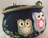 NEW! Owl be there for you *Card purse