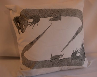 Lizards Cushion