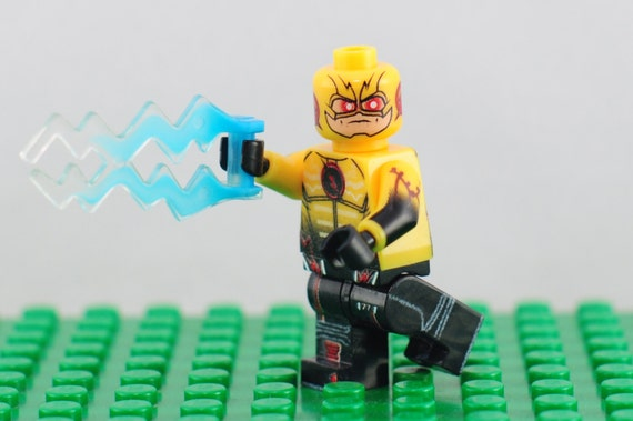Reverse flash custom minifigure lego compatible dc comics like this item negle Image collections