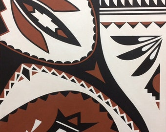 "Fine Art Card (""Native Clay #1"")"