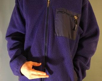 Vintage Patagonia Purple Fleece
