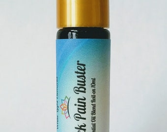 Back Pain Buster Essential oil 10 ml Roller Similar to Deep Relief and Deep Blue. ( made with Blue tansy)