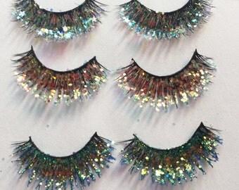 Glitter Lashes Set