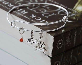 Percy Jackson bracelet || Camp Half Blood bracelet