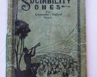 1951, Sunday School Sings, Praise Book, 122 Hymns and Choruses,  Antique Books, Sheet Music Books,  Praise Book Publications
