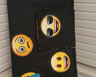 Adorable Emoji Print Wallet