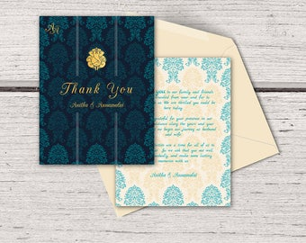 Indian wedding card Etsy
