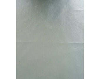 A4 Sheet of Barely Blue Smooth Faux Leather