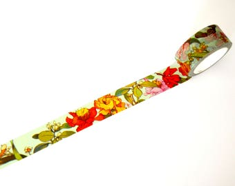 Exotic Floral Washi Tape 20mm