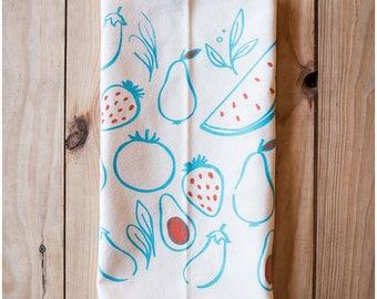 Colorful Fruit Kitchen Towel