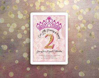 Princess Birthday Lace 2