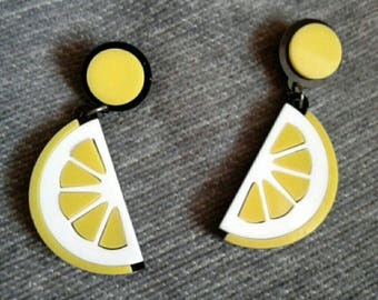 When Life Gives You Lemons Earrings
