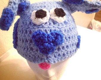 Crochet Blues Clues hat