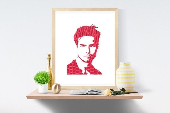 Tom Cruise, Tom Cruise Poster, Tom Cruise Print, Tom Cruise Art, Tom Cruise Movie, Top Gun, Tom Cruise Wall Art, Wall Decor, Dorm Poster