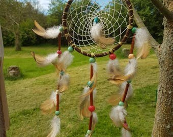 Dream Catcher - Authentic - Boho - Tribal - dreamcatcher