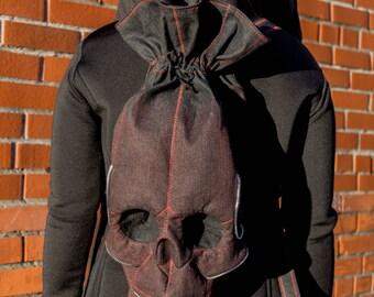 Skull Backpack - Skull Bag - Skull Rucksack