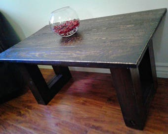 Custom Reclaimed Coffee Table, Christian Rustic Furniture