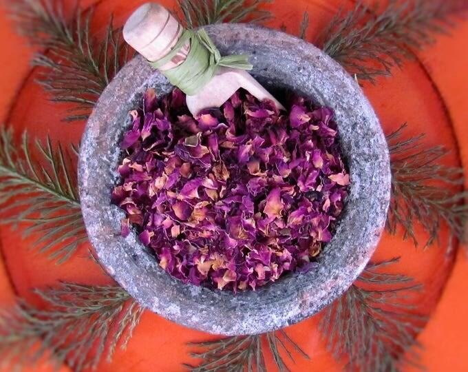 Red Rose Petals, Rose Petal Tea, Rosa species, herbal tea, potpourri, sachet