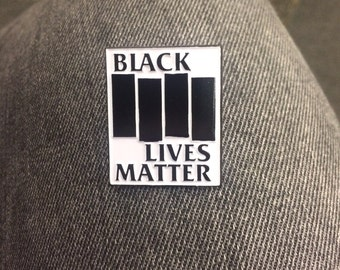 Black Lives Matter Enamel Pin