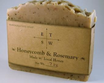 Oh, Honey! / Honey and Rosemary Soap