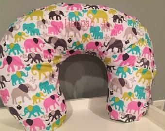 Boppy cover, Elephant print