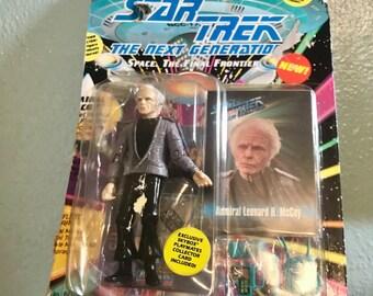 SALE!!! Star Trek Figure - Admiral Leonard H. McCoy - Playmates Action Figure - 1993 - The Next Generation