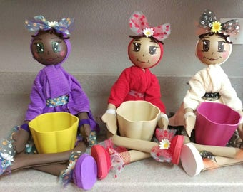 Fofushas dolls, fofushas doll decoration,