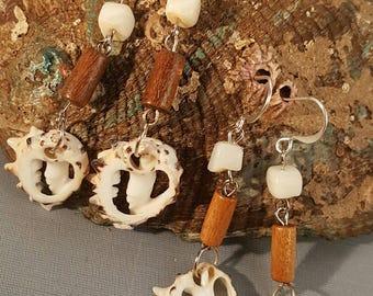 Drupa Shell Earrings