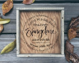 Evangeline Parish - Sign (12x12)