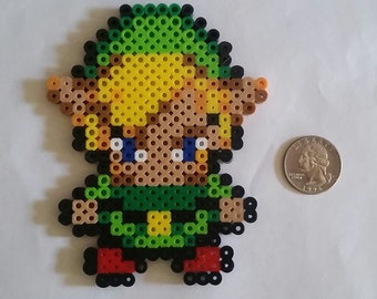 Zelda, Link and Sheik Perler Beads