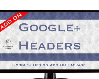 Google+ Header Add On Package - Purchase With Branding Package Only