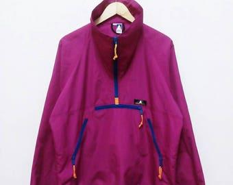 Hot Sale!!! Rare Vintage 90s SIERRA DESIGNS Pullover Half Zip Winbreaker Jacket Outdoor Hip Hop Skate Swag Medium Size