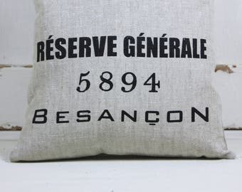 Besancon Linen Cushion