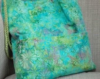 Batik Project Bag