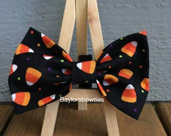 Candy Corn Bow Tie, Dog bow tie