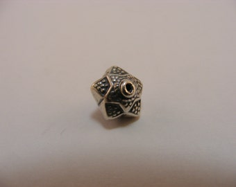 Sterling Silver Handmade Bali Bead Style B434