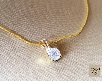 End necklace, necklace, woman, jewel Valentine, ras neck collar, necklace pendant, fine jewelry, necklace chain gilded with 24K fine gold.