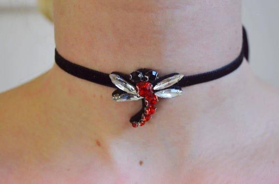 Dragonfly Handmade Choker