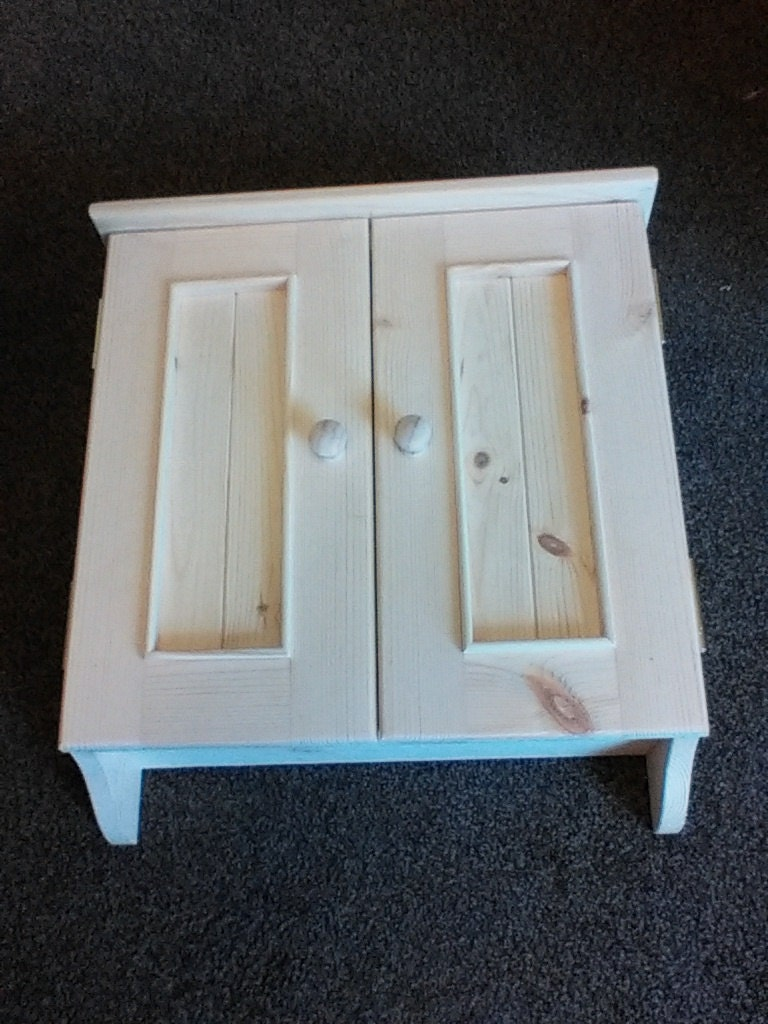 Pine wall cabinet fuse box cover by shavingsandstitches on