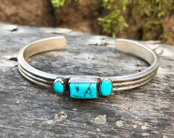Southwestern Turquoise Cuff Bracelet