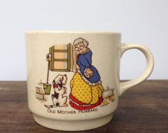 Johnsons of Australia old mother hubbard mug