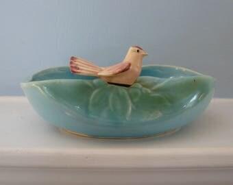 McCoy Blue Bird Planter 1950's