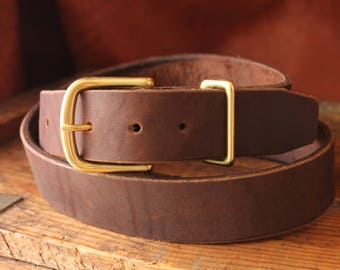 Horween Chromepak Brown Belt